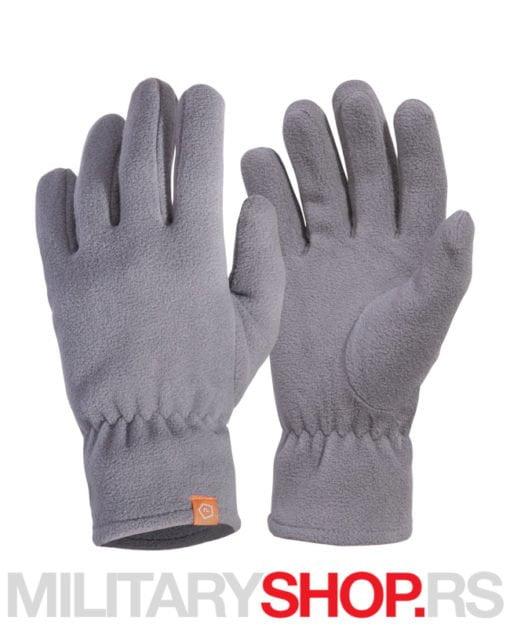 Pentagon sive flisane rukavice Triton