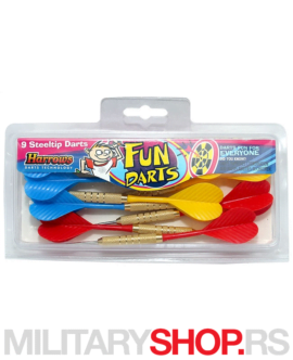 Set mini strelica za pikado Fun Darts