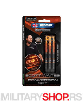 Metalne pikado strelice Scott Waites Conversion