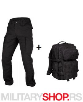 BDU rip-stop pantalone i Cooper 50l ranac