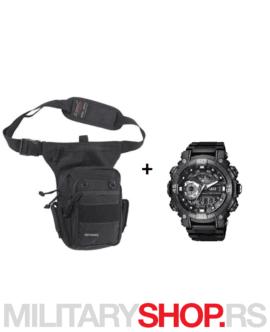 Pentagon torbica Max 2.0 i Q&Q ručni sat GW87J001Y