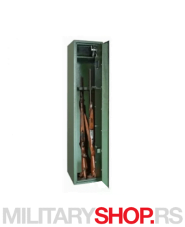 Sef za puške sa sigurnosnim ključem