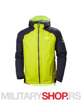 Vodootporna planinarska jakna Hally Hansen Odin 9 zelena