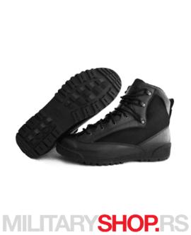 Poluduboke crne čizme Garsing 048