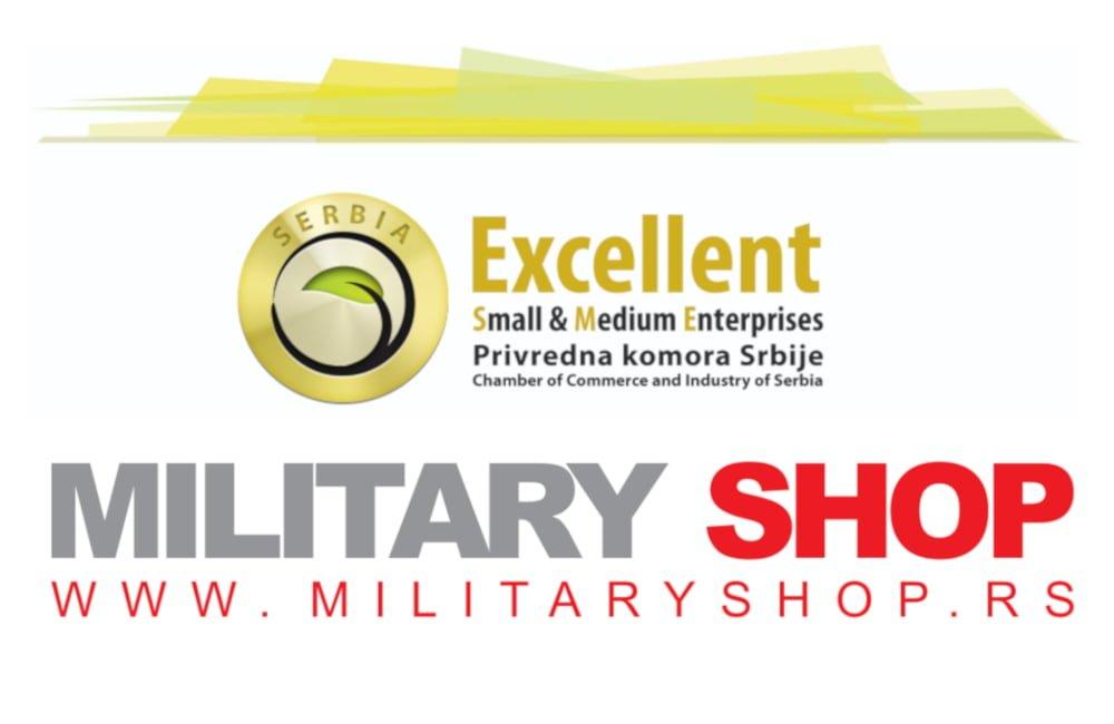 Military Shop zasluženo stekao Excellent Sertifikat za poslovanje