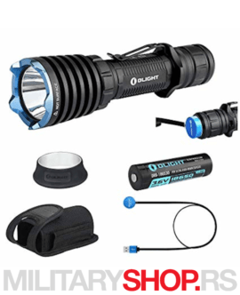 Lovački set lampe Olight Warrior X