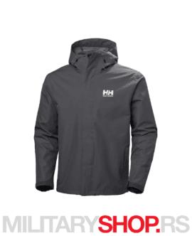 Vodoodbojna muška jakna Helly Hansen Seven J siva