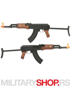 Električna replika Kalašnjikova AK47 Cyma AEG Airsoft