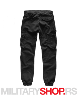 Pantalone sa ranflom Surplus Bad Boys crne