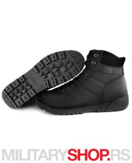 Crne kožne čizme Garsing 924