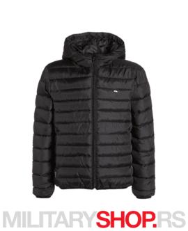 Muška jakna s kapuljačom Quicksilver Scaly crna