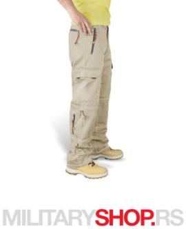 Kamperske pantalone Surplus Trekking bež