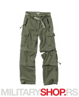 Sportske trekking pantalone Surplus zelene