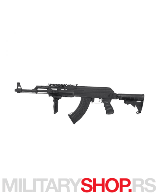 Airsoft puška AK47 Tactical Cyma je kvalitetno izrađena od metala i plastike. Za sve ljubitelje airsoft igara, preporučujemo Cyma replike