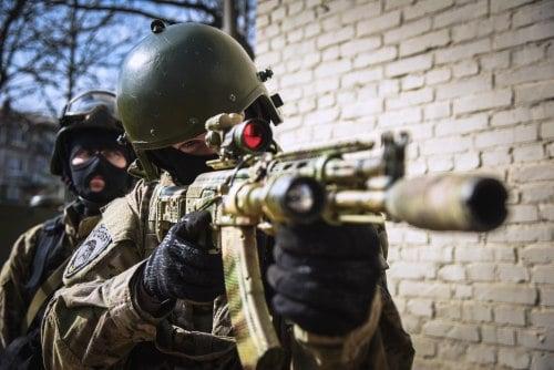 SOBR - Specijalni odred brzog reagovanja predstavlja odred koji dela u okvirima Ruske nacionalne garde. Njihovi zadaci uglavnom uključuju pomoć regularnoj policiji