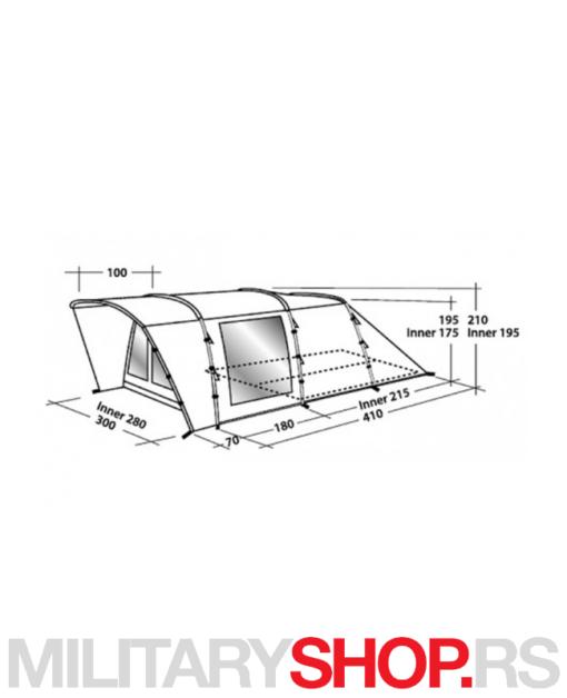 Boston 400 šator Easy Camp