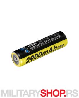 Punjiva 18650 baterija Nitecore NL1829LTP