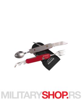 Pribor za jelo kamperski nož Linder Adventurer