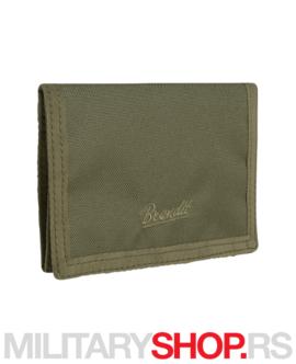 Muški novčanik Brandit olive 8065.1.OS