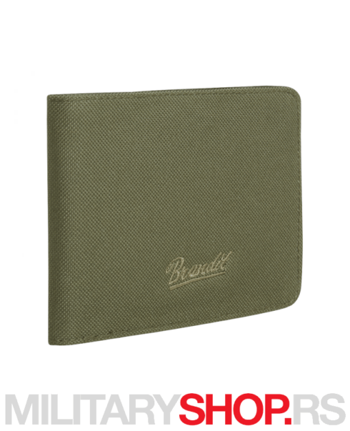 Muški novčanik Brandit zeleni 8066.1.OS