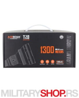 Acebeam T28 Lampa domet 1300m