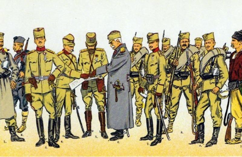Uniforma srpske vojske u Prvom svetskom ratu