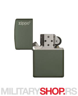 Zippo upaljač zeleni mat