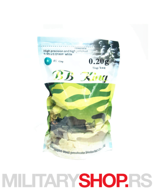 BB King kuglice 1kg airsoft 0,20g
