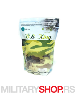 BB King airsoft kuglice 0,25g 1kg