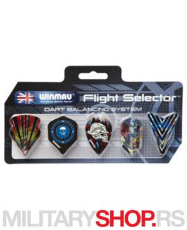 Komplet pikado pera Winmau Flight Selector