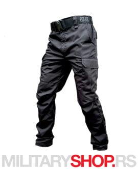 Taktičke Rip-Stop crne pantalone Armoline Police