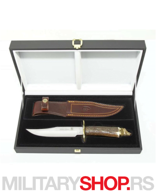 Nož sa motivom vuka Muela Wolf-16A