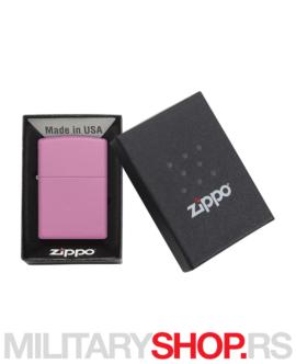 Zippo upaljač Pink matte