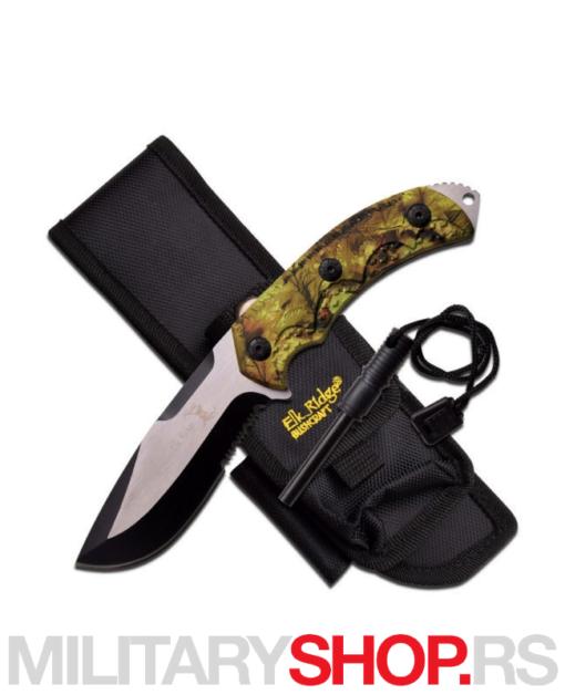 Taktički nož sa kremenom ER-537CA