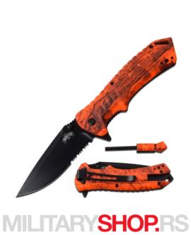 Taktički narandžasti nož Masters USA MU-A062OC