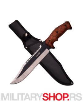 Nazubljeni kamperski nož Survivor HK-795BW