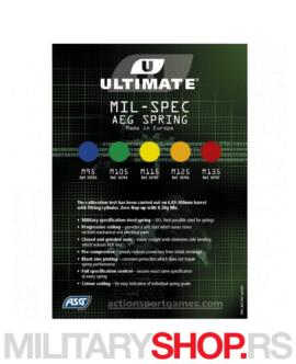 ASG Ultimate AEG narandžasta opruga M125