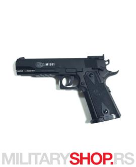 Airsoft replika pištolja CO2 Colt 1911