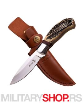 Nož sa izrezbarenom drškom Elk Ridge