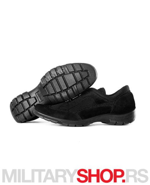 Cipela patika crna prevrnuta koža Win City Garsing 5203 C