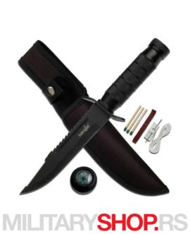 Nazubljeni nož sa futrolom Survivor HK-695B