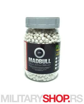 Municija Mad Bull kuglice 0.40 g 2000 kom
