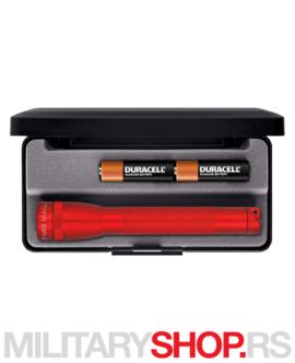Led lampa crvena Maglite M2A03L box
