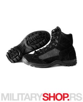 Garsing poluduboke cipele crne prevrnuta koža AIR PRO 217 C