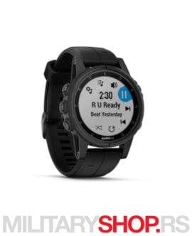 Outdoor sat sa GPSom Fenix 5s Plus Sapphire crni