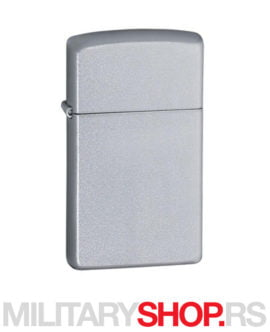 Zippo uži model Slim Satin Chrome