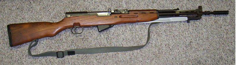 Papovka – poluautomatska puška Zastava M59/66
