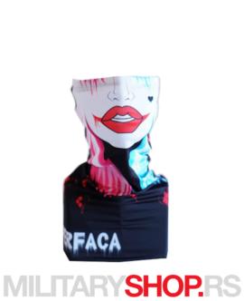 Bandana Harley Quinn Superfaca ski-skarf