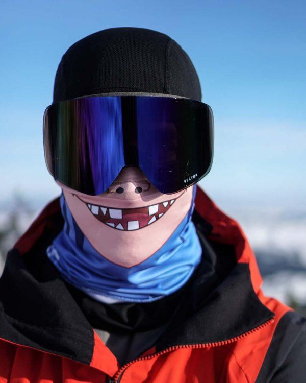 Bandana za skijanje Superfaca Gorillaz