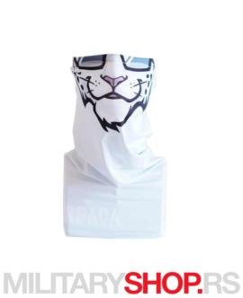 Superfaca bandana bele boje Tigar